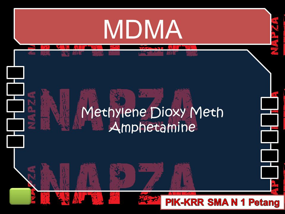 Methylene Dioxy Meth Amphetamine