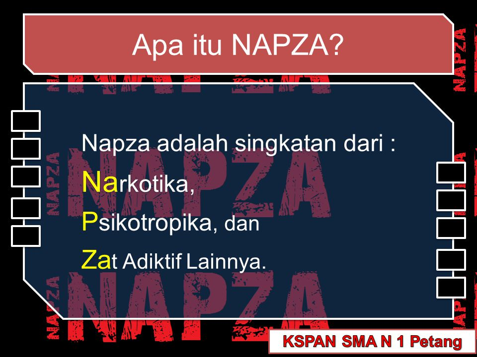 Apa itu NAPZA Narkotika, Psikotropika, dan Zat Adiktif Lainnya.