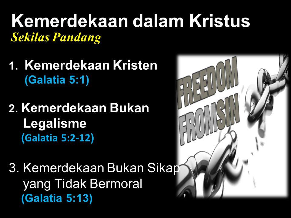 Kemerdekaan dalam Kristus Black