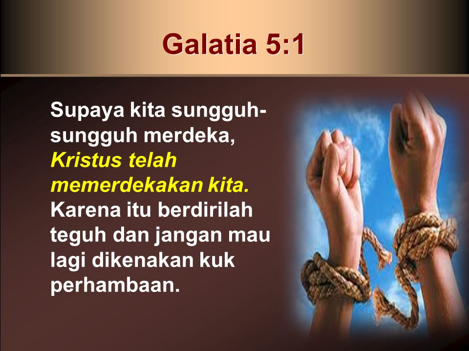 Galatia 5:1