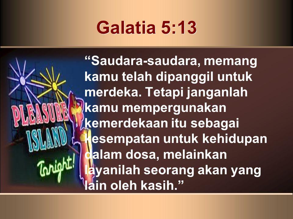 Galatia 5:13