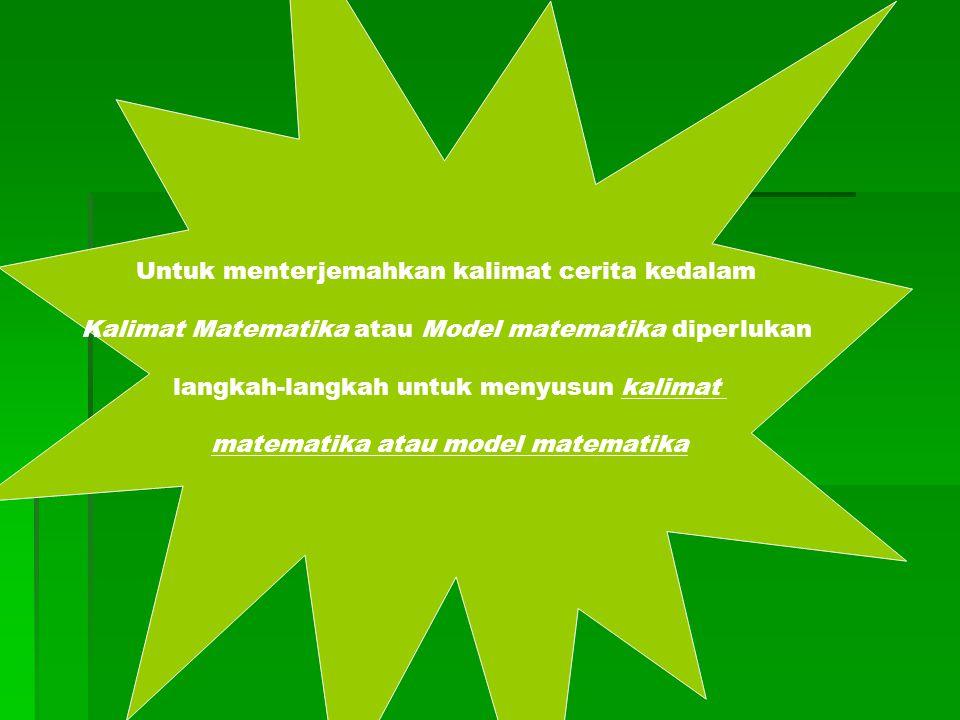 matematika atau model matematika
