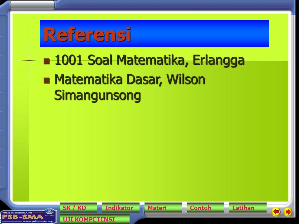 Referensi 1001 Soal Matematika, Erlangga