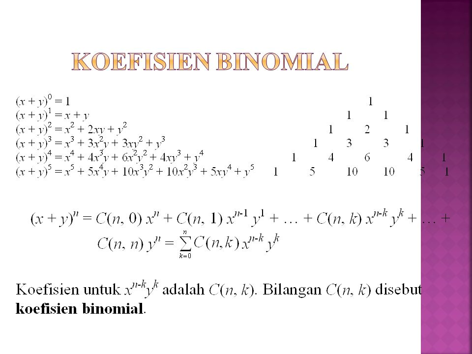 Koefisien Binomial