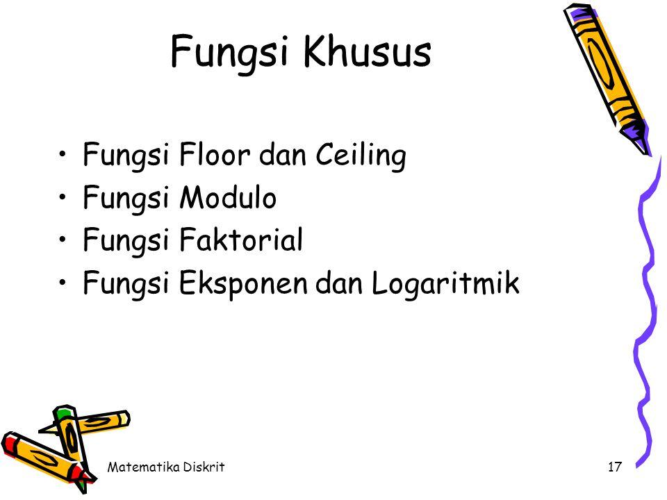 Fungsi Floor (Batas bawah)