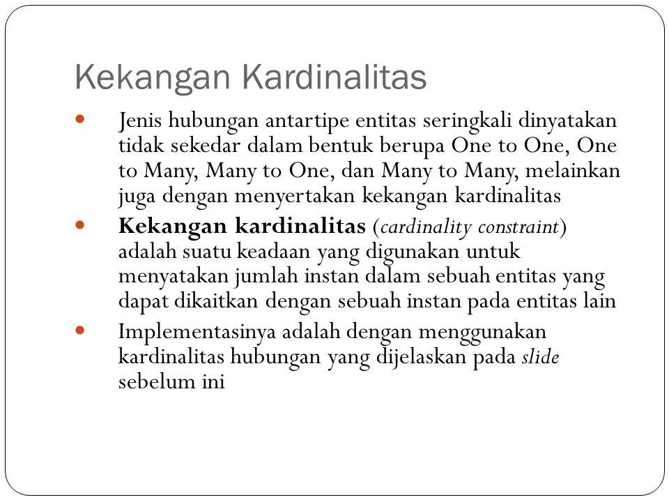 Kekangan Kardinalitas