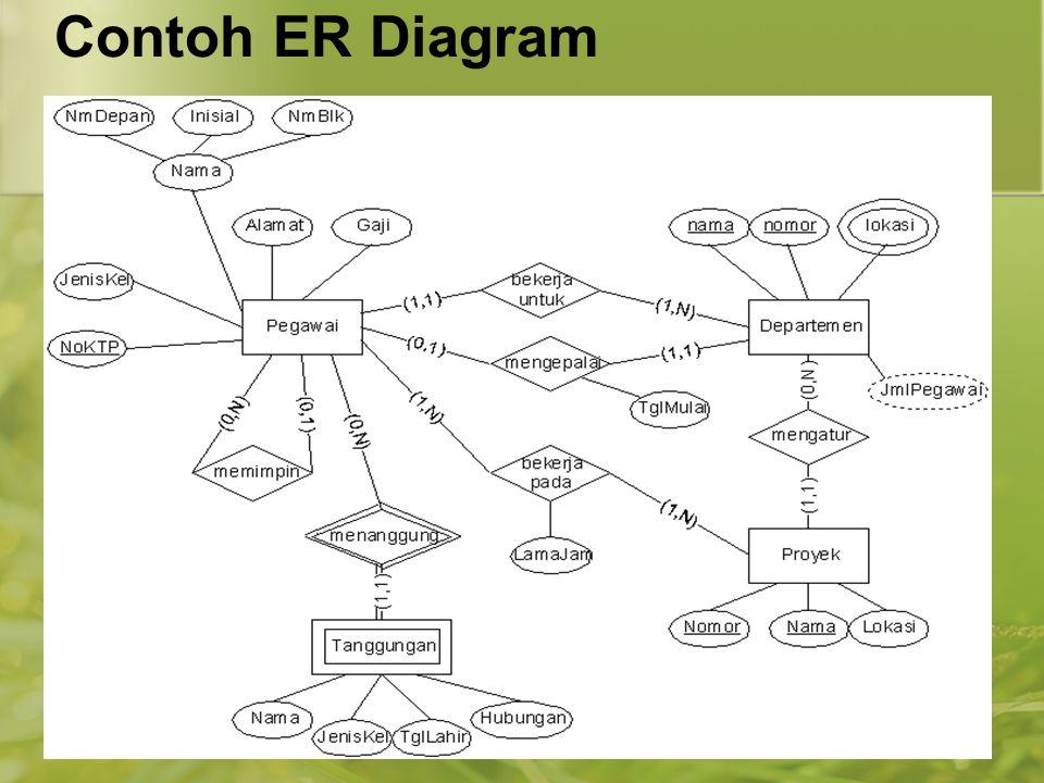 Contoh ER Diagram