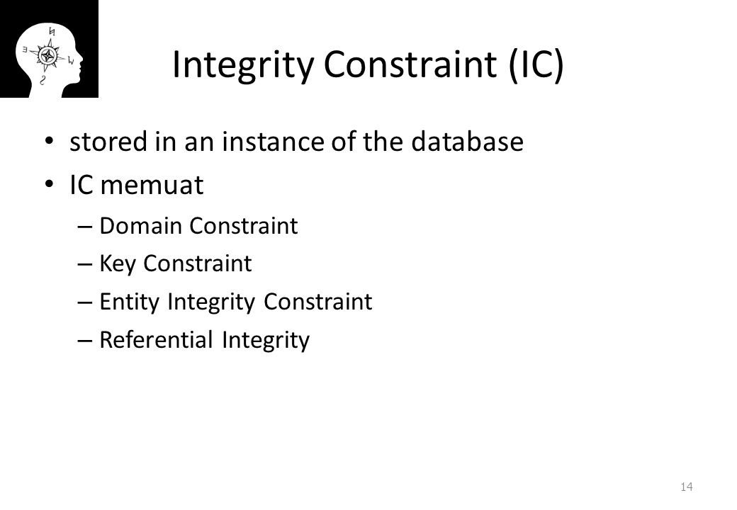 Integrity Constraint (IC)