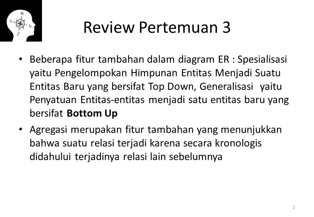 Review Pertemuan 3