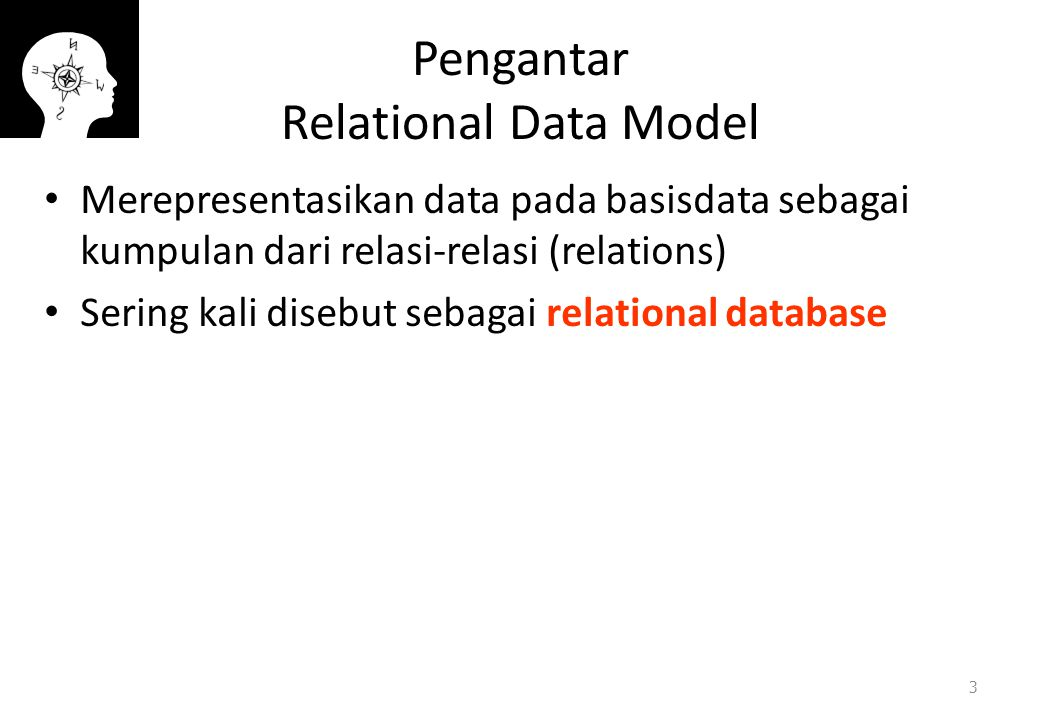 Pengantar Relational Data Model