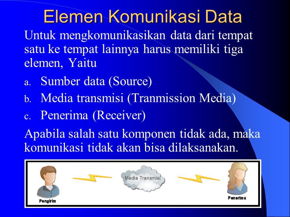 Elemen Komunikasi Data