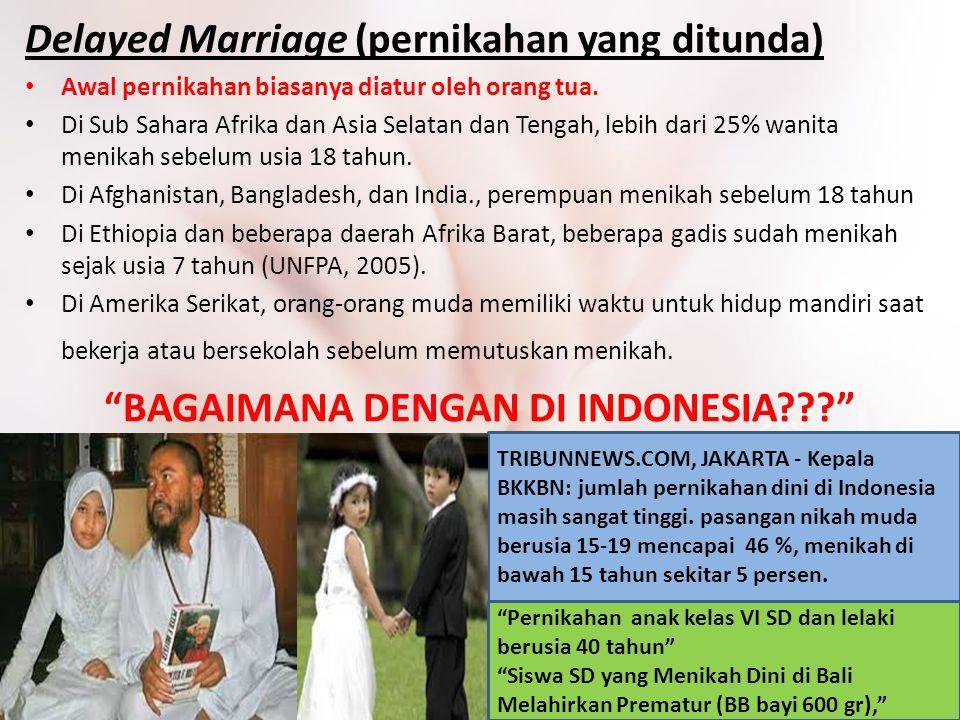 BAGAIMANA DENGAN DI INDONESIA