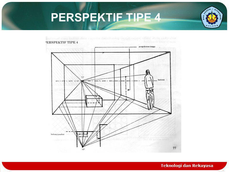 PERSPEKTIF TIPE 4 Teknologi dan Rekayasa