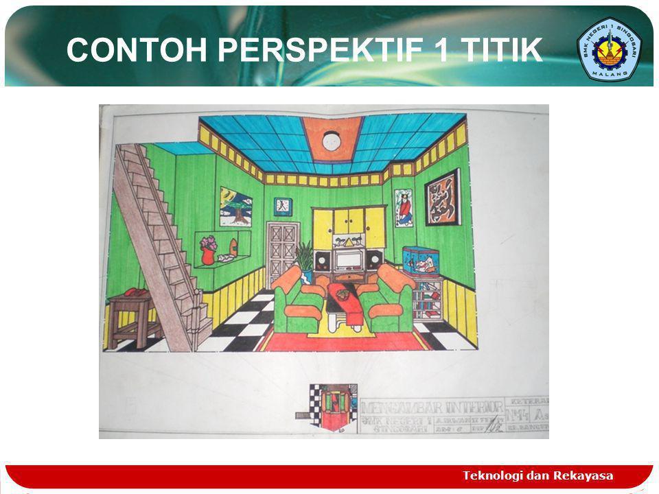CONTOH PERSPEKTIF 1 TITIK