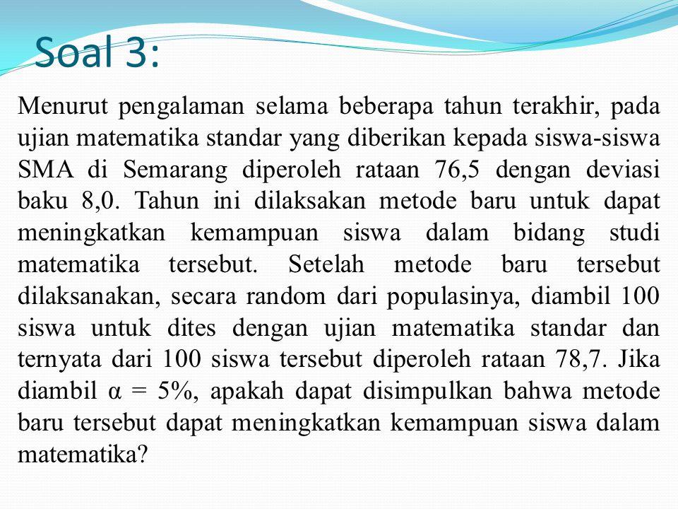 Soal 3: