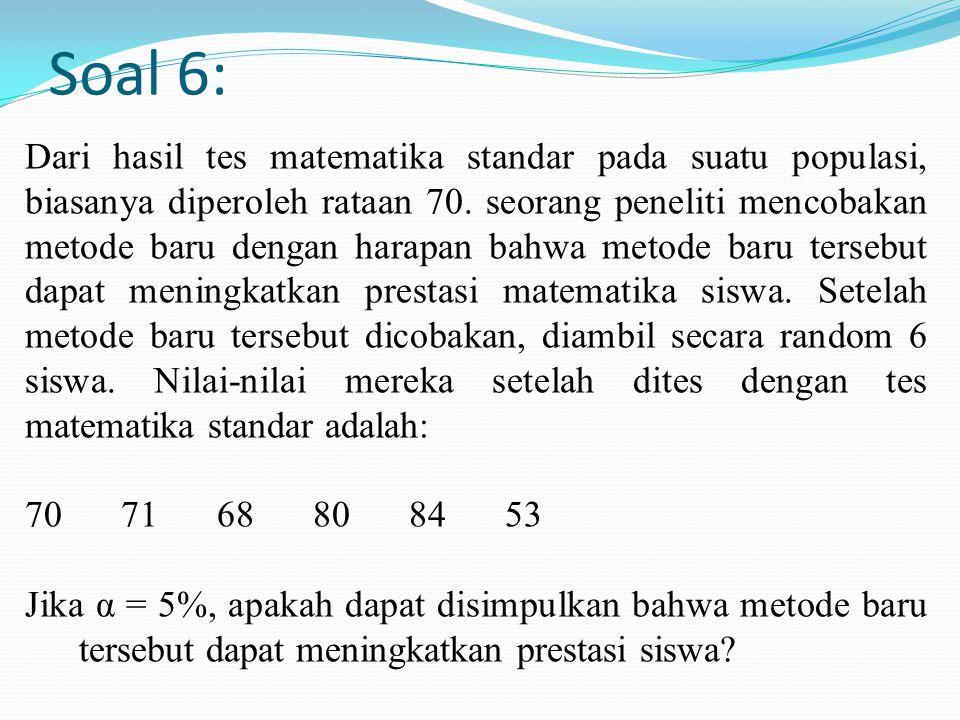 Soal 6: