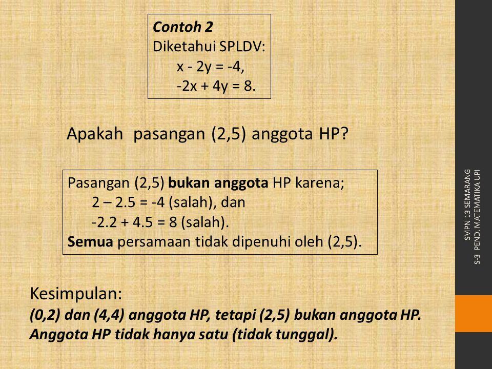 Apakah pasangan (2,5) anggota HP