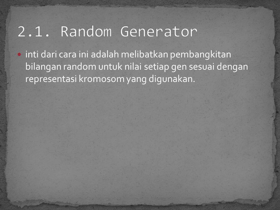 2.1. Random Generator