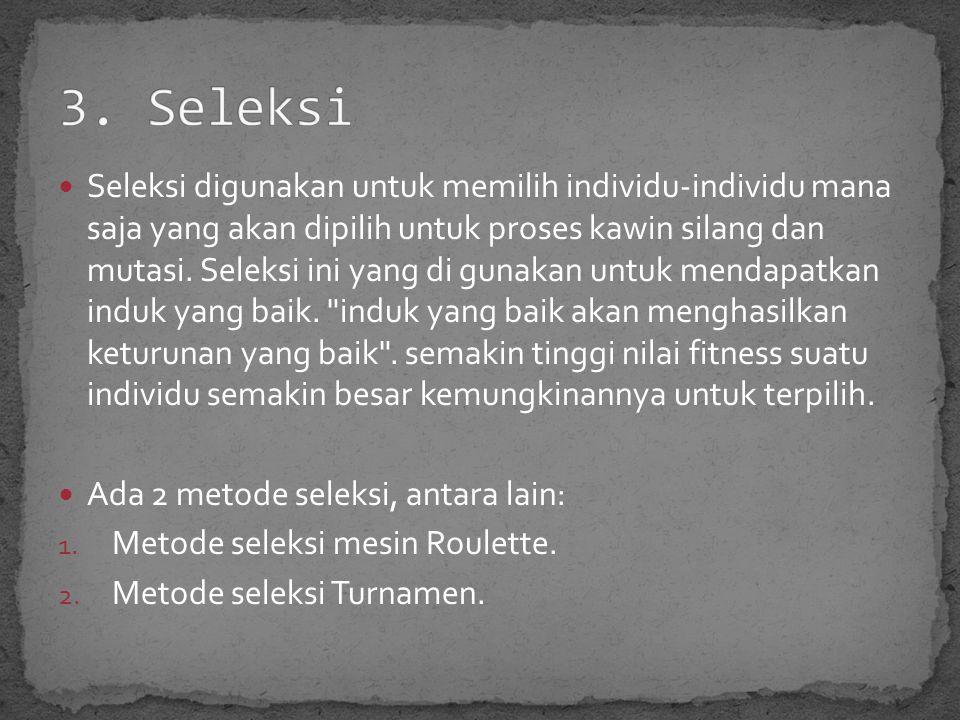 3. Seleksi