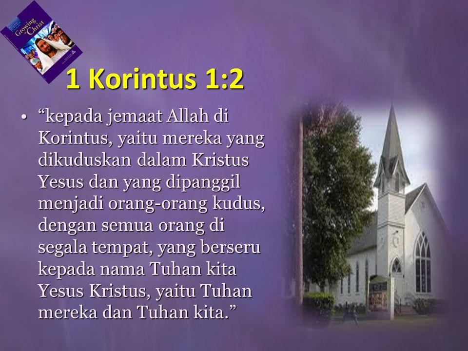 1 Korintus 1:2