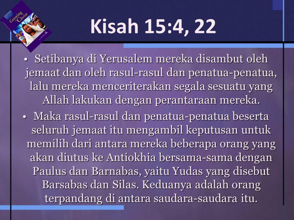 Kisah 15:4, 22