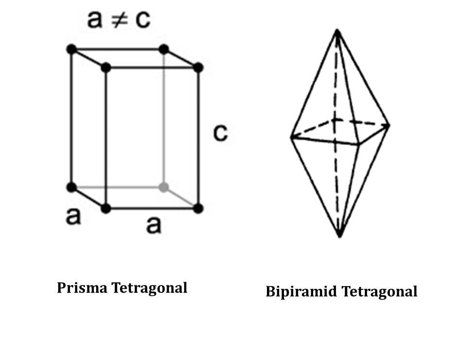 Prisma Tetragonal Bipiramid Tetragonal