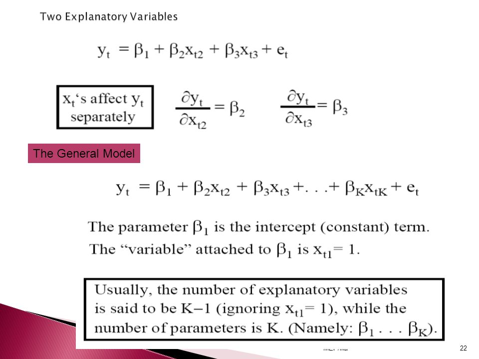 Two Explanatory Variables