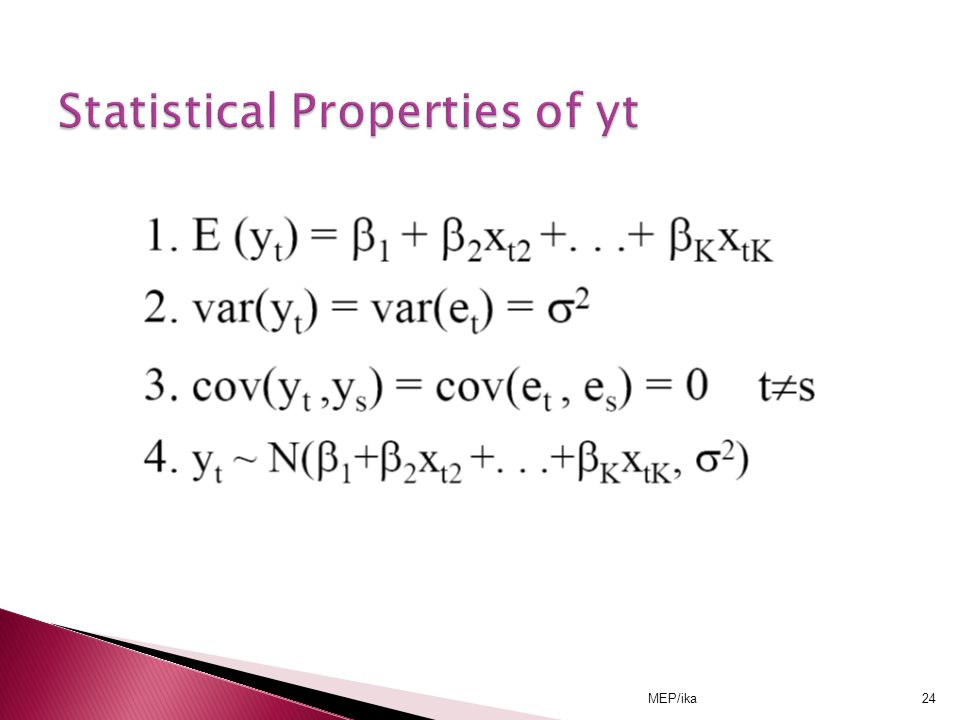 Statistical Properties of yt