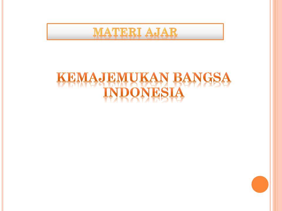 KEMAJEMUKAN BANGSA INDONESIA