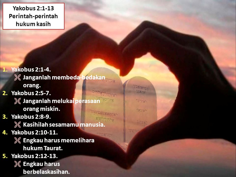 Perintah-perintah hukum kasih