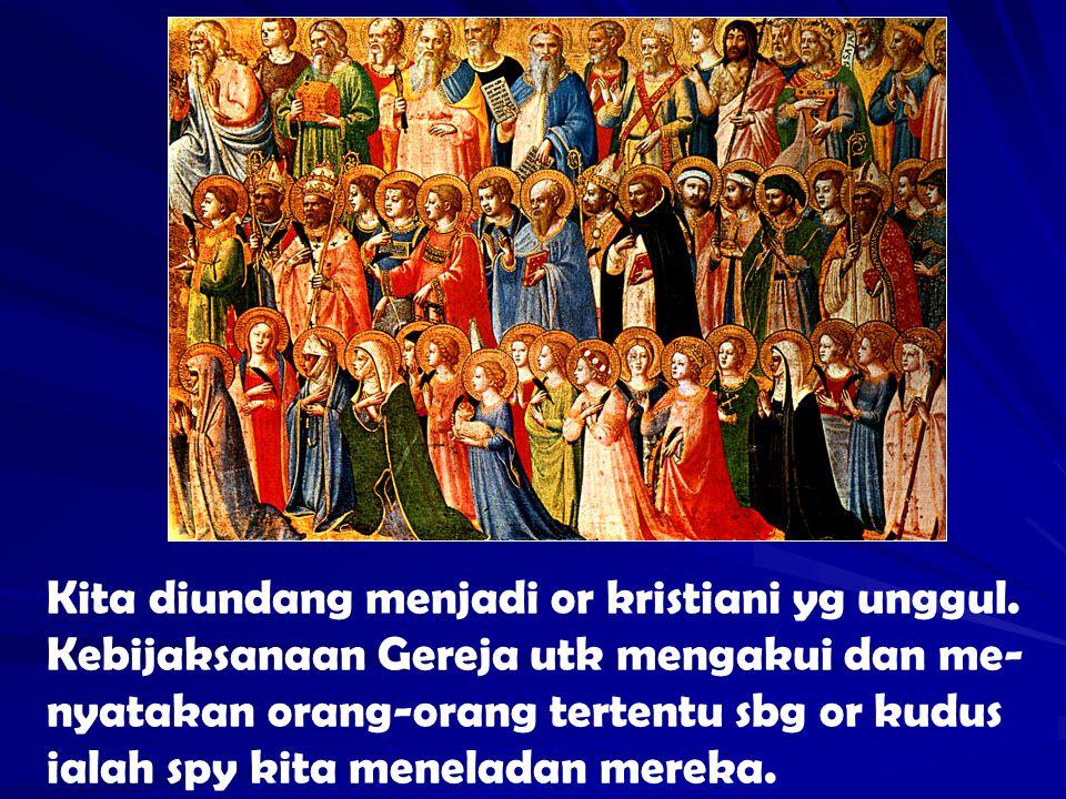 Kita diundang menjadi or kristiani yg unggul