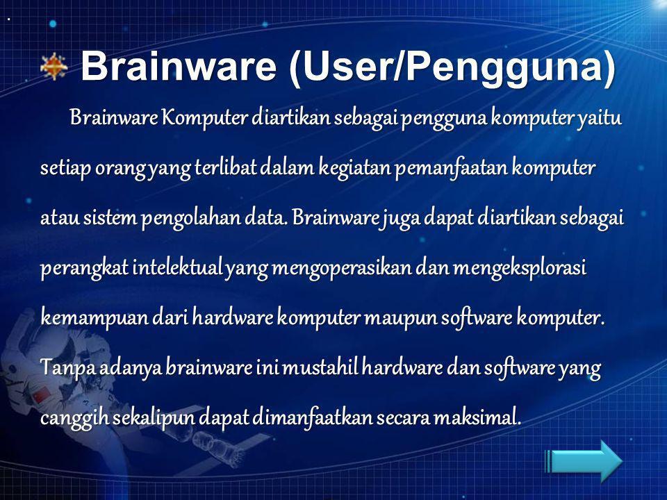 Brainware (User/Pengguna)
