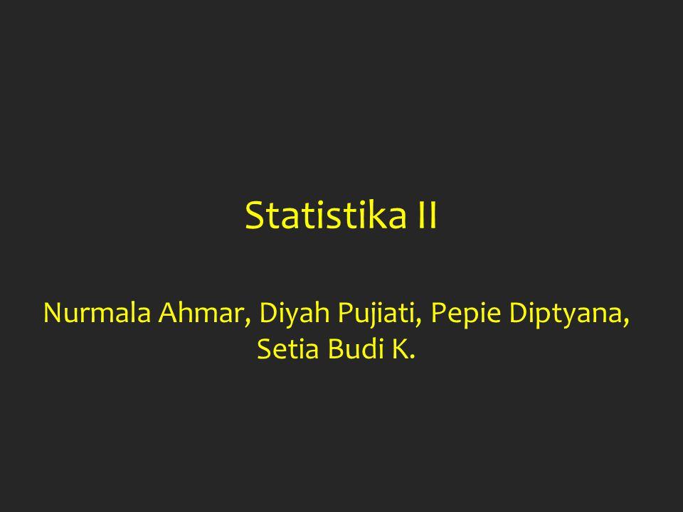 Nurmala Ahmar, Diyah Pujiati, Pepie Diptyana, Setia Budi K.