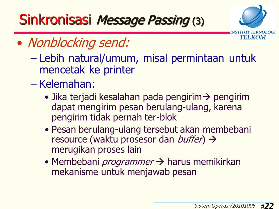 Sinkronisasi Message Passing (4)
