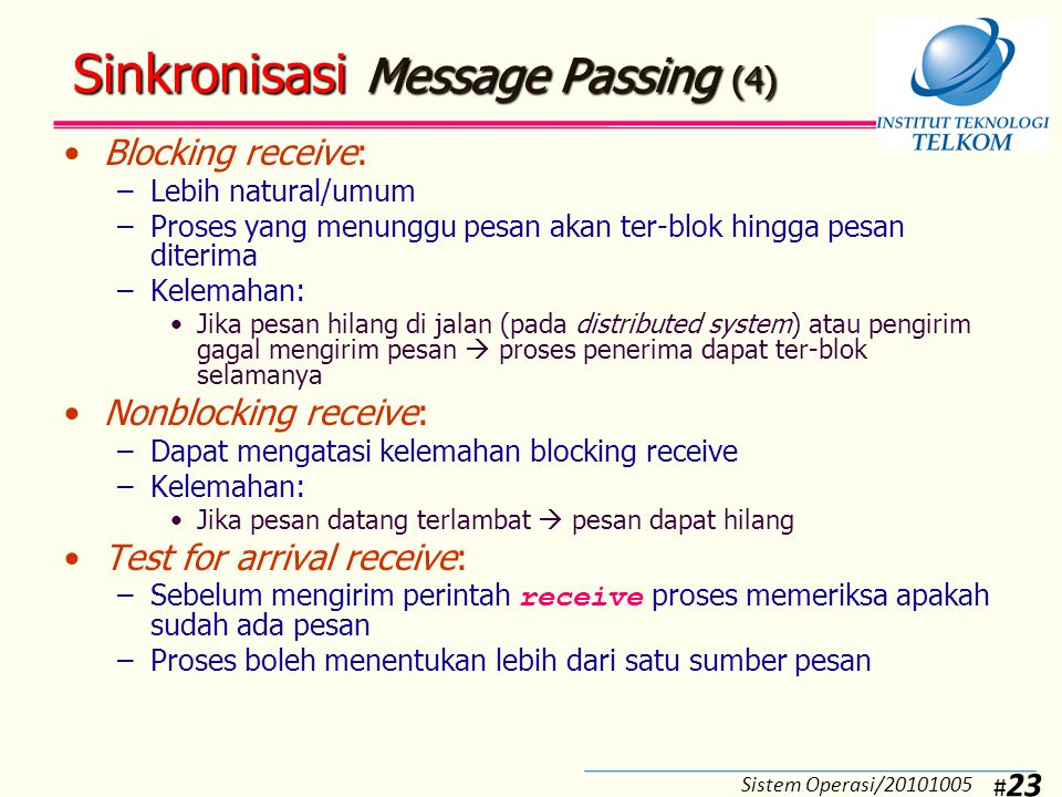 Pengalamatan Message Passing (1)