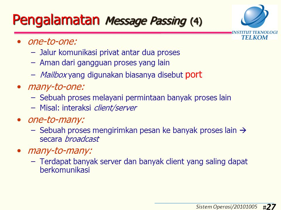 Pengalamatan Message Passing (5)