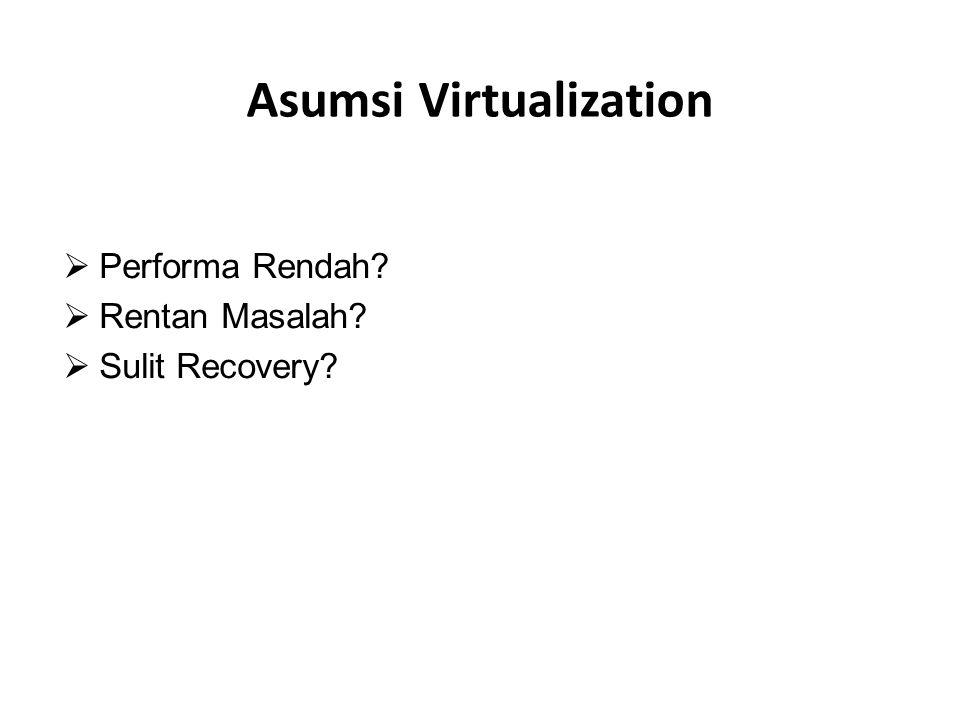 Asumsi Virtualization