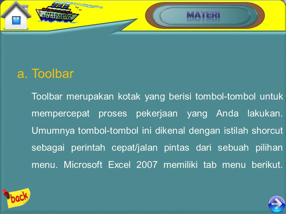 MATERI Toolbar.