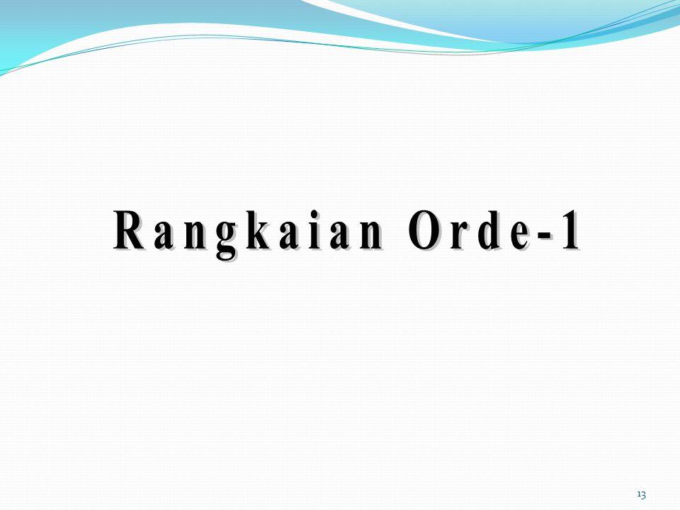 Rangkaian Orde-1