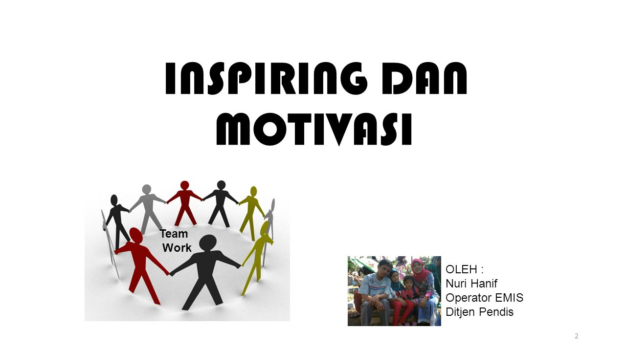 INSPIRING DAN MOTIVASI