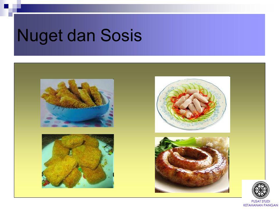 Nuget dan Sosis