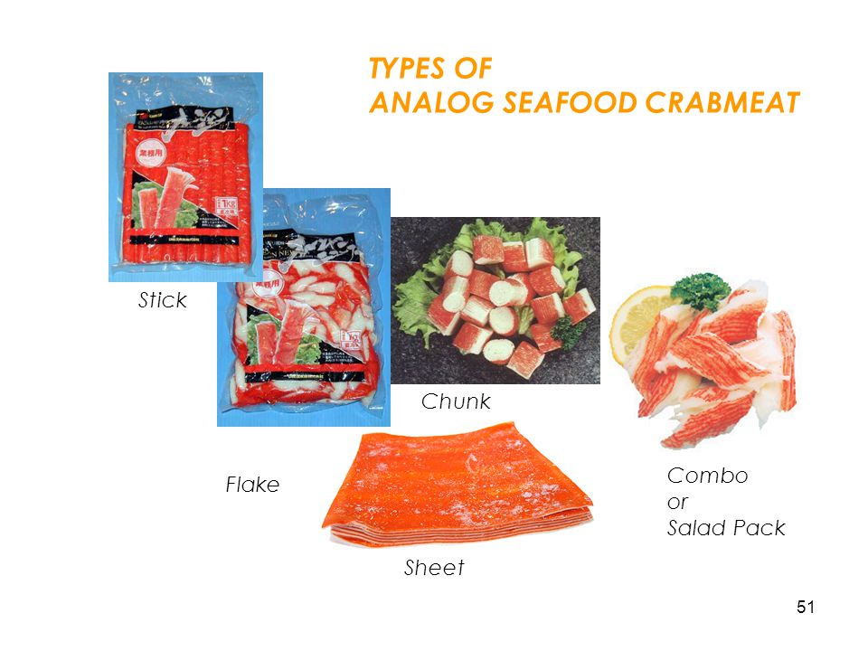ANALOG SEAFOOD CRABMEAT