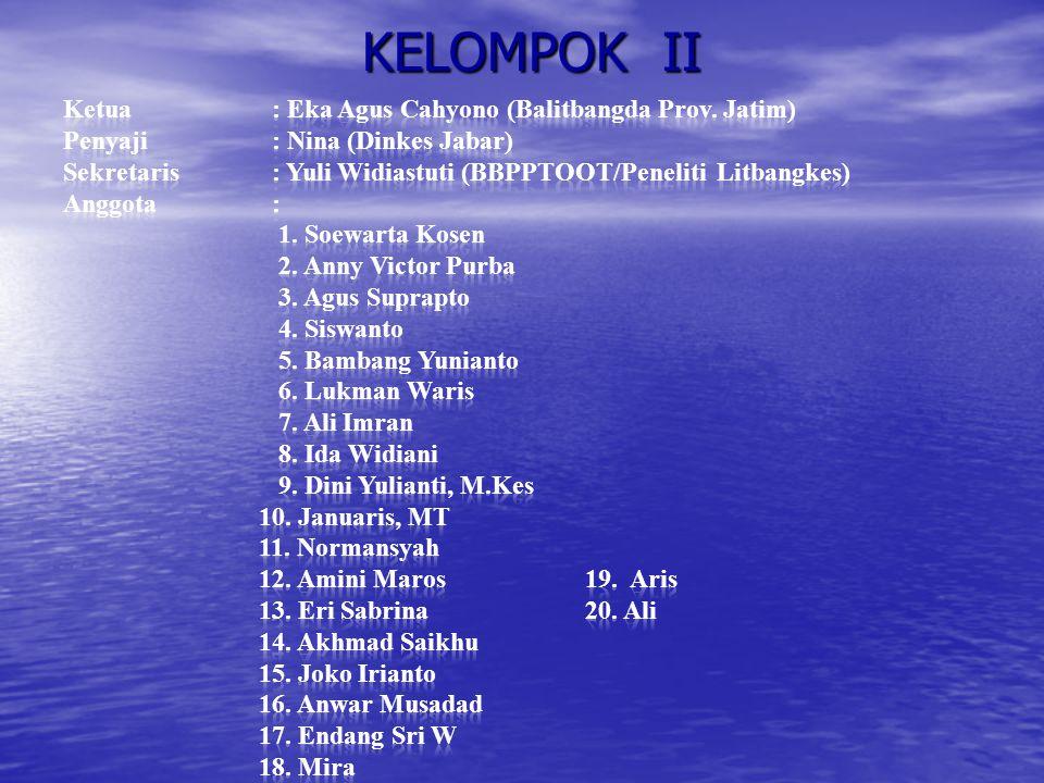 KELOMPOK II
