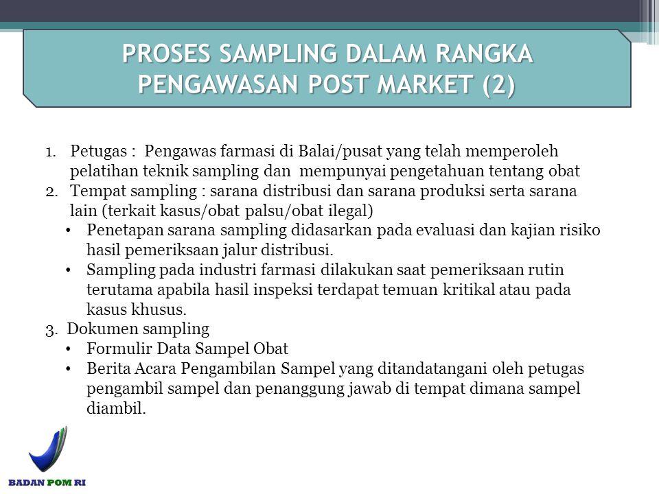 PROSES SAMPLING DALAM RANGKA PENGAWASAN POST MARKET (2)