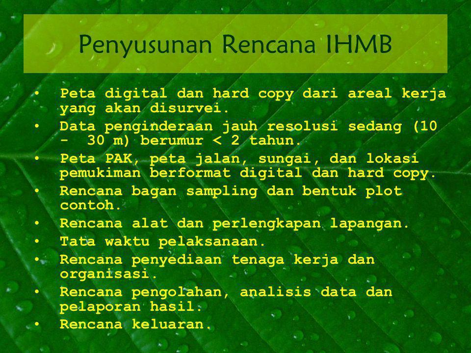 Penyusunan Rencana IHMB