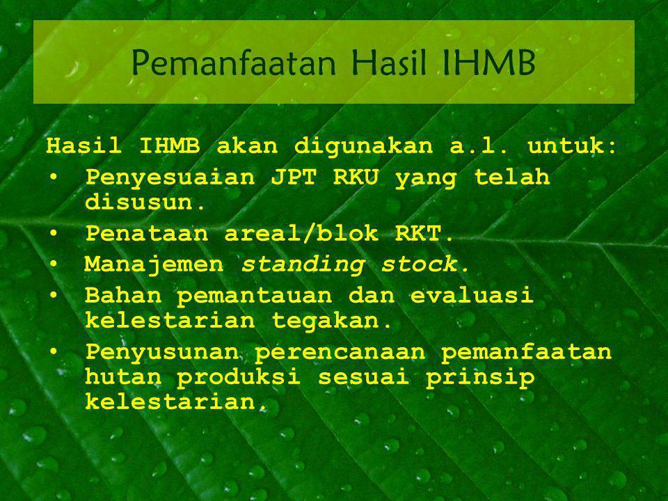 Pemanfaatan Hasil IHMB