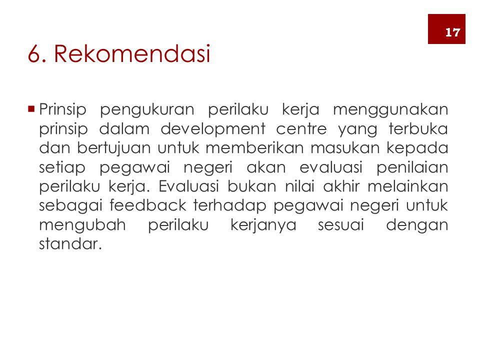 6. Rekomendasi 17.