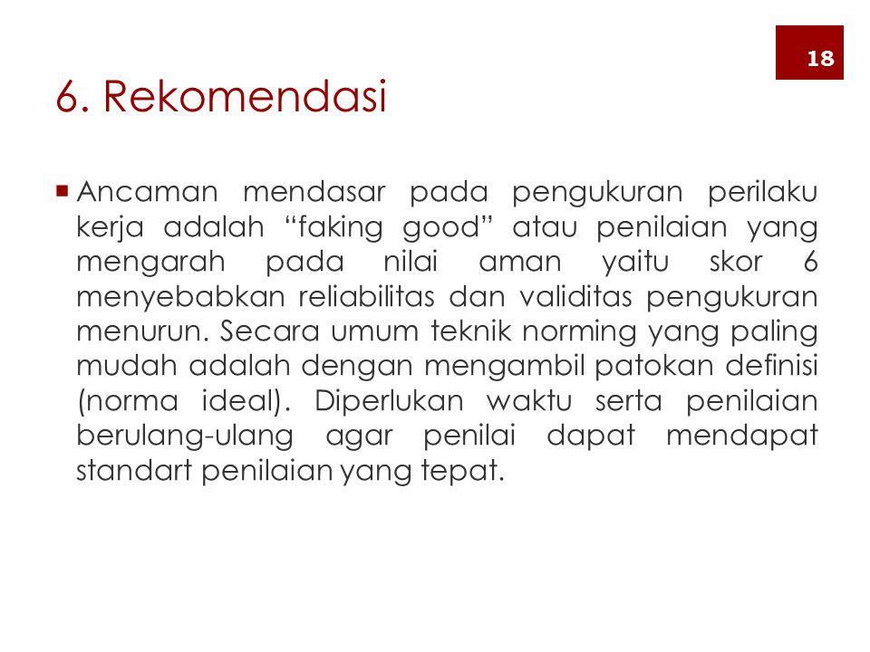 6. Rekomendasi 18.