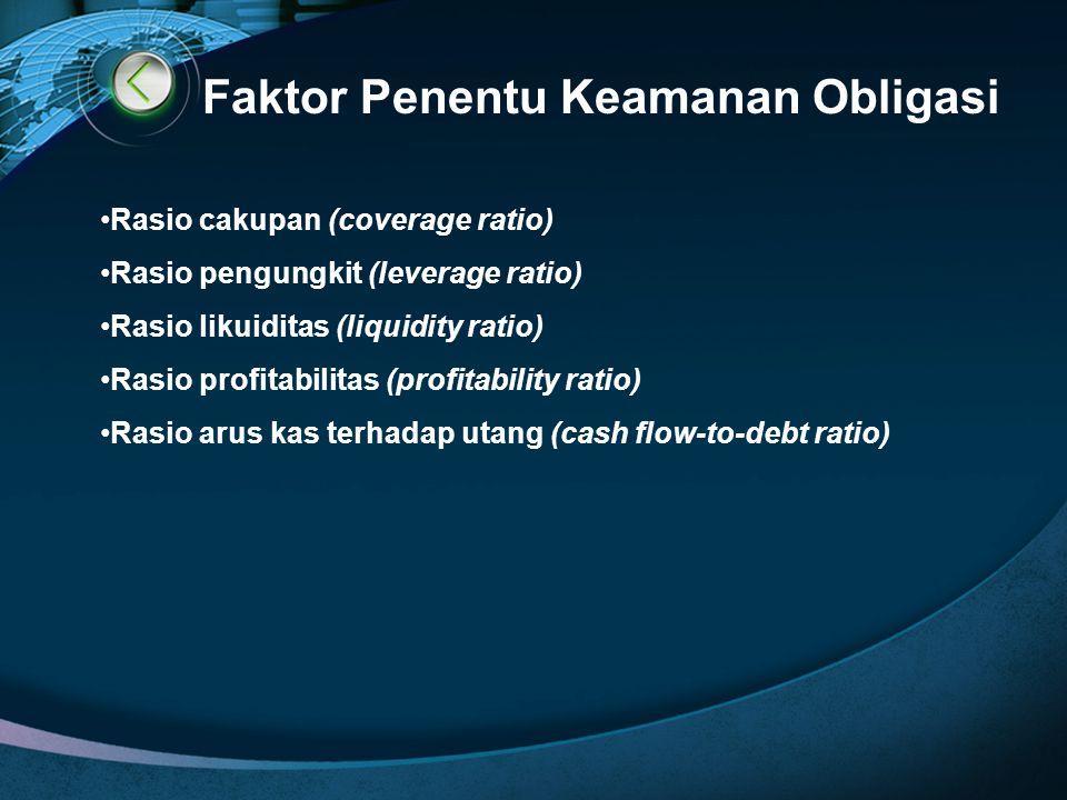Faktor Penentu Keamanan Obligasi
