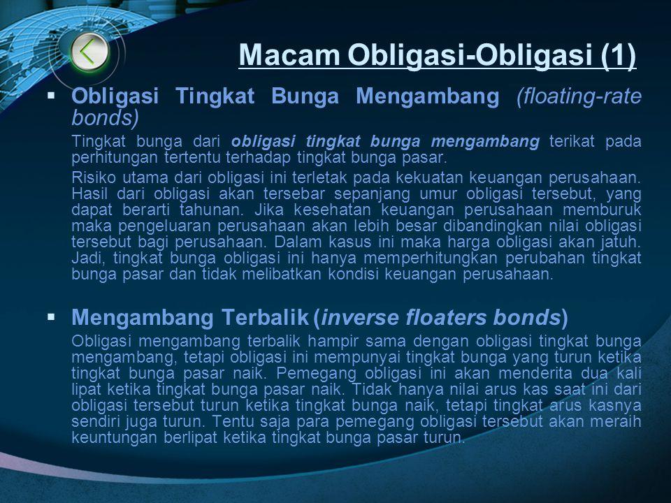 Macam Obligasi-Obligasi (1)